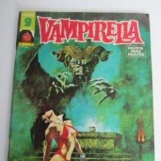Cómics: VAMPIRELLA (1974, GARBO) 6 · V-1975 · ¡INFIERNO EN LA NIEVE! *** EXCELENTE ***. Lote 197599596