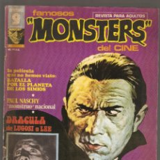 Cómics: FAMOSOS MONSTERS DEL CINE - VOL.1 - Nº 1 - IV -1975 - GARBO EDITORIAL, S. A. -. Lote 197747661