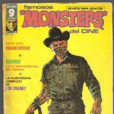 Cómics: FAMOSOS MONSTERS DEL CINE - VOL.1 - Nº 23 - MUY DIFICIL - III 1977 - GARBO EDITORIAL, S. A. -. Lote 197750143