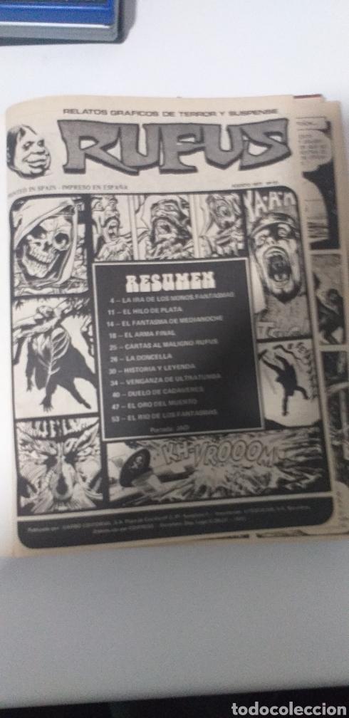 Cómics: RUFUZ UN GRAN ÁLBUM DE 8 TERRORÍFICAS HISTORIAS COMPLETAS - Foto 3 - 197786047