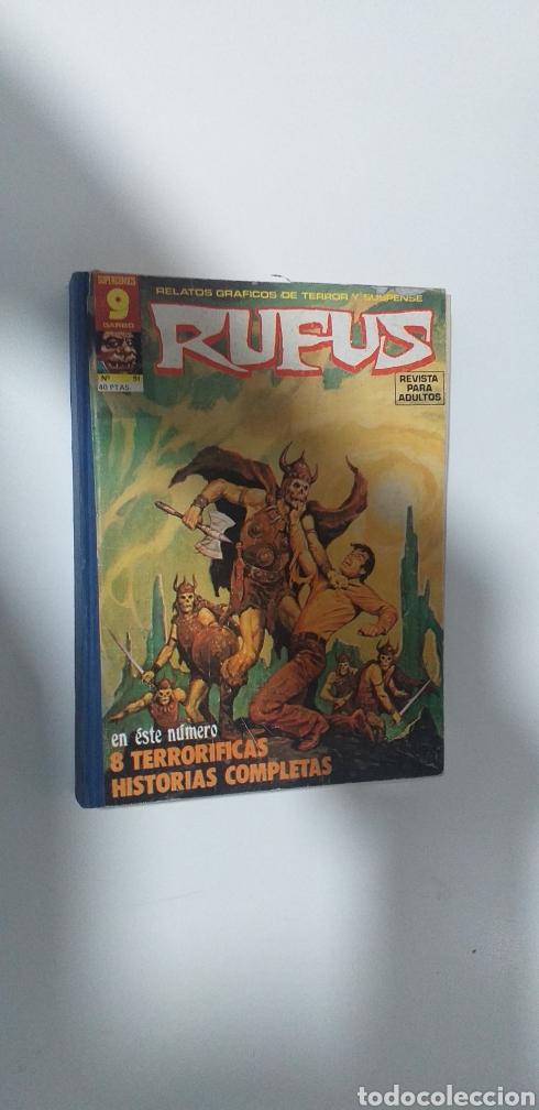 RUFUZ UN GRAN ÁLBUM DE 8 TERRORÍFICAS HISTORIAS COMPLETAS (Tebeos y Comics - Garbo)