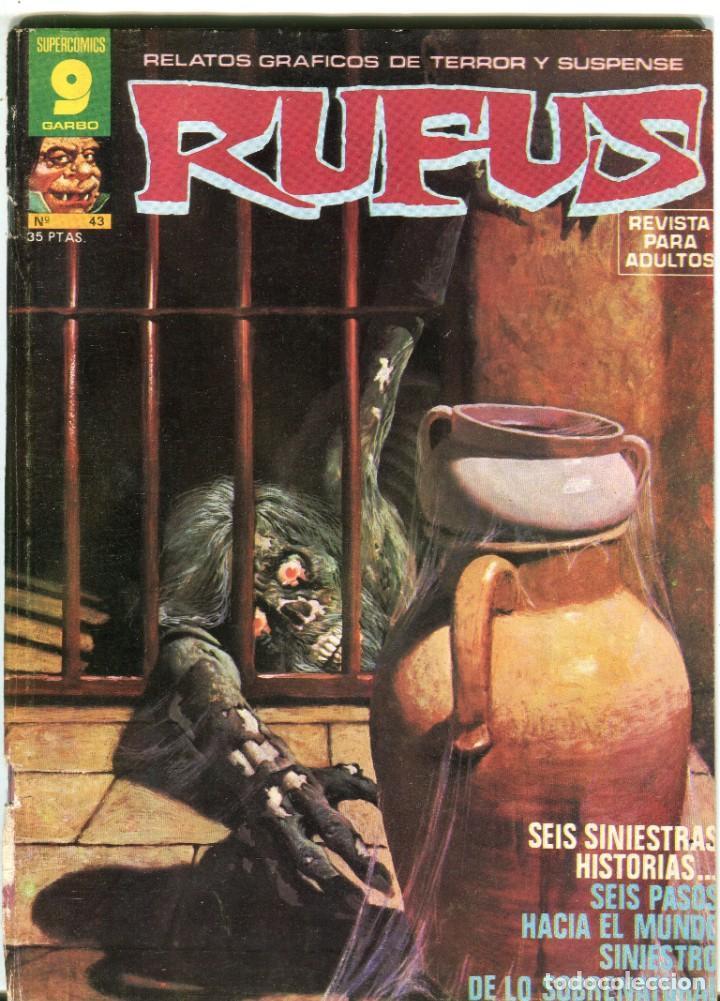 RUFUS (GARBO) N 43 DICIEMBRE DE 1976 PROCEDE DE RETAPADO (Tebeos y Comics - Garbo)
