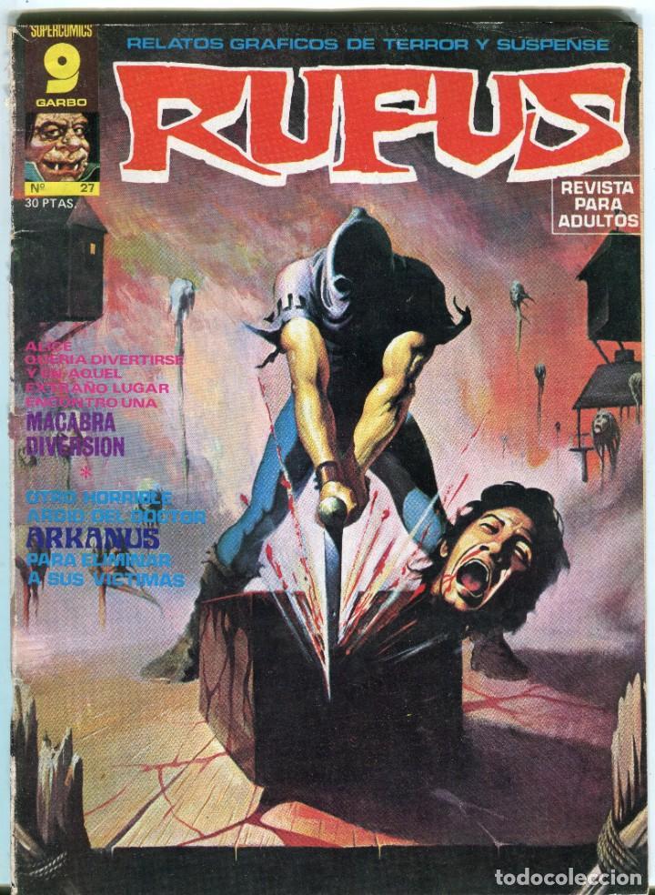 RUFUS (GARBO) N 27 AGOSTO DE 1975 PROCEDE DE RETAPADO (Tebeos y Comics - Garbo)