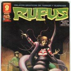 Cómics: RUFUS (GARBO) N 31 DICIEMBRE DE 1975 PROCEDE DE RETAPADO. Lote 198190402