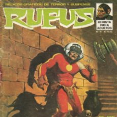 Fumetti: ANTIGUO COMIC RUFUS REVISTA PARA ADULTOS Nº15 RELATOS GRAFICOS DE TERROR Y SUSPENSE. Lote 198190923