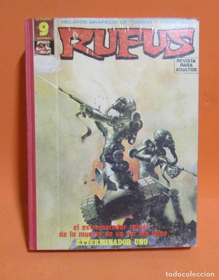 RUFUS RETAPADO CONTIENE LOS N 34 - 35 - 27 - 41 - 37 - 48 EN BUEN ESTADO DE CONSERVACION (Tebeos y Comics - Garbo)