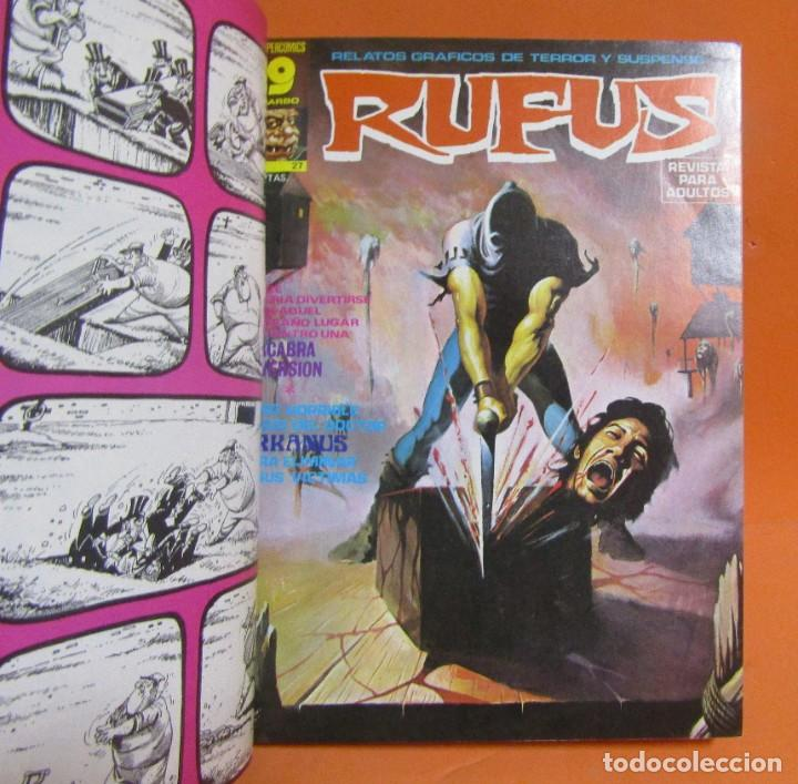 Cómics: RUFUS RETAPADO CONTIENE LOS N 34 - 35 - 27 - 41 - 37 - 48 EN BUEN ESTADO DE CONSERVACION - Foto 2 - 198194083