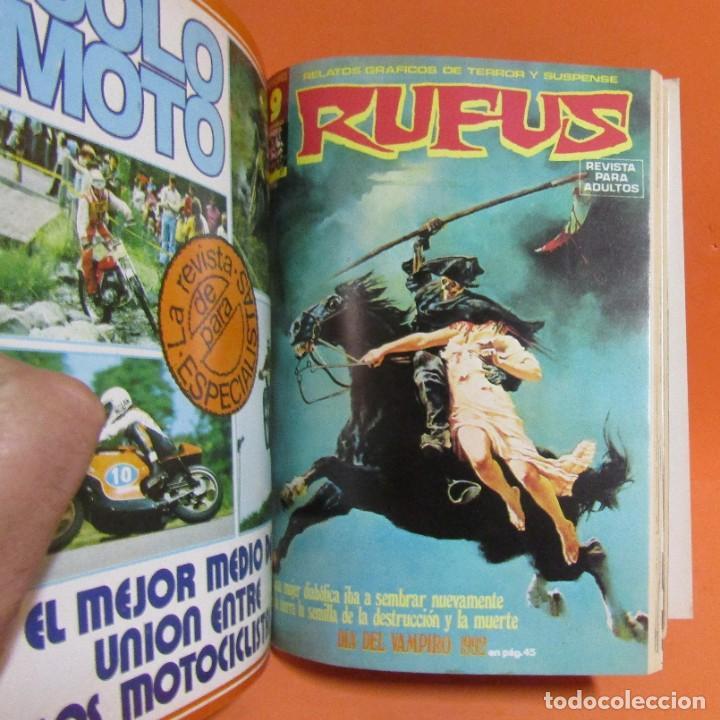Cómics: RUFUS RETAPADO CONTIENE LOS N 34 - 35 - 27 - 41 - 37 - 48 EN BUEN ESTADO DE CONSERVACION - Foto 3 - 198194083