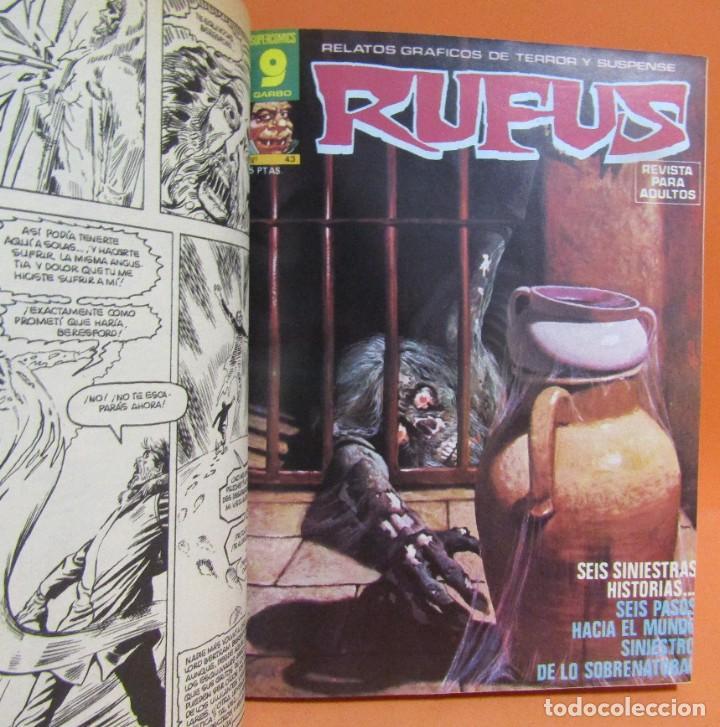 Cómics: RUFUS RETAPADO CONTIENE LOS N 34 - 35 - 27 - 41 - 37 - 48 EN BUEN ESTADO DE CONSERVACION - Foto 4 - 198194083