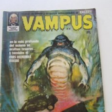 Comics : VAMPUS Nº 24 CON POSTER A COLOR GARBO. C12. Lote 199365010