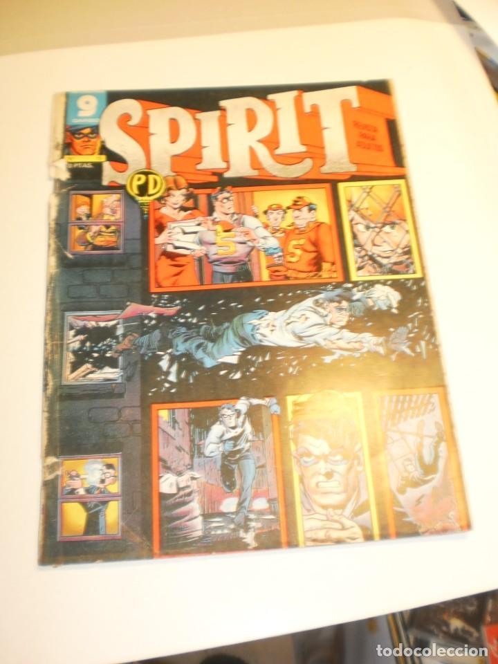 SPIRIT Nº 15 GARBO 1973 (ALGÚN DEFECTO) (Tebeos y Comics - Garbo)