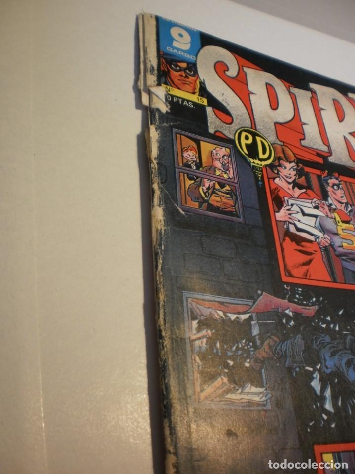 Cómics: spirit nº 15 garbo 1973 (algún defecto) - Foto 2 - 199389222