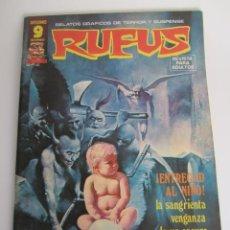 Fumetti: RUFUS (1973, IMDE / GARBO) 39 · VIII-1976 · ¡ENTREGAD AL NIÑO!. Lote 199961477