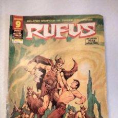 Fumetti: RUFUS Nº 51 · 8 TERRORÍFICAS HISTORIAS COMPLETAS. EDITORIAL GARBO. AÑO1973.. Lote 201203098