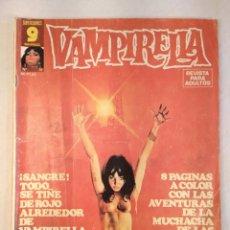 Fumetti: VAMPIRELLA Nº 31. REVISTA PARA ADULTOS. GARBO EDITORIAL. AÑO 1977.. Lote 201203602