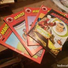 Cómics: LOTE 5 TEBEOS / CÓMIC MANDRAKE GARBO MERLÍN EL MAGO N 2 AL 20 1973. Lote 204210185