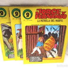 Cómics: MANDRAKE JORGE Y FERNANDO Nº 13, 16 Y 19. Lote 204730291