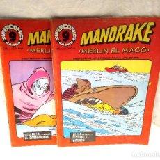 Cómics: MANDRAKE Nº 14 Y 17 SUPERCOMICS GARBO. Lote 204730388