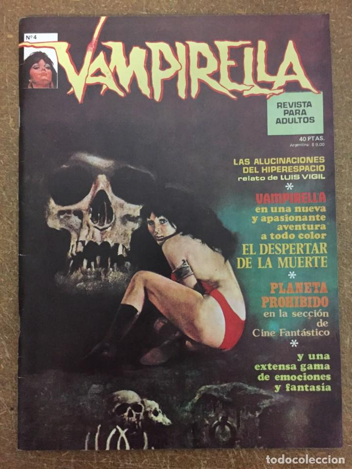 VAMPIRELLA Nº 4 (Tebeos y Comics - Garbo)