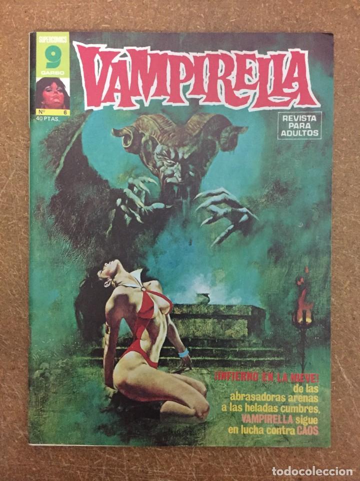 VAMPIRELLA Nº 6 (Tebeos y Comics - Garbo)