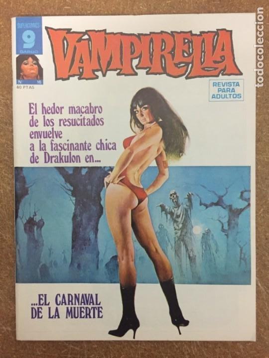 VAMPIRELLA Nº 16 (Tebeos y Comics - Garbo)