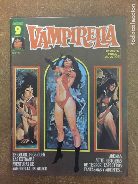 VAMPIRELLA Nº 27 (Tebeos y Comics - Garbo)