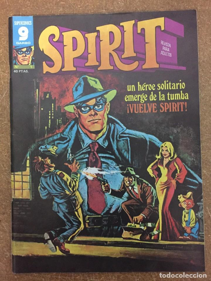 SPIRIT Nº 1 (GARBO) (Tebeos y Comics - Garbo)