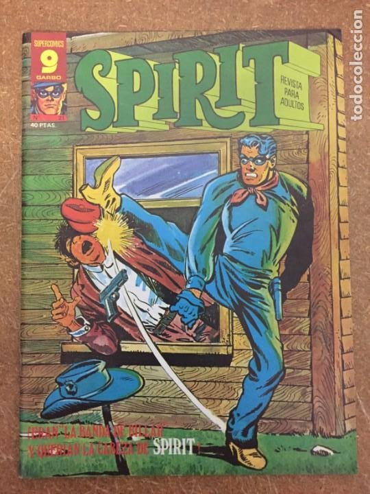 Cómics: SPIRIT nº 21 (Garbo) - Foto 1 - 205135568