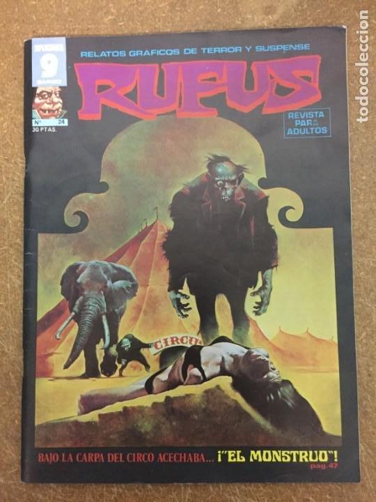 RUFUS Nº 24 (GARBO) (Tebeos y Comics - Garbo)