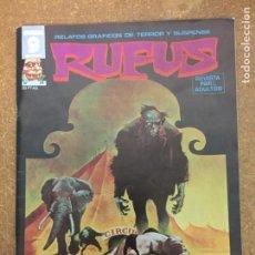 Cómics: RUFUS Nº 24 (GARBO). Lote 205136021