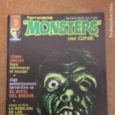 Cómics: FAMOSOS MONSTERS DEL CINE Nº 5 (GARBO). Lote 205136270