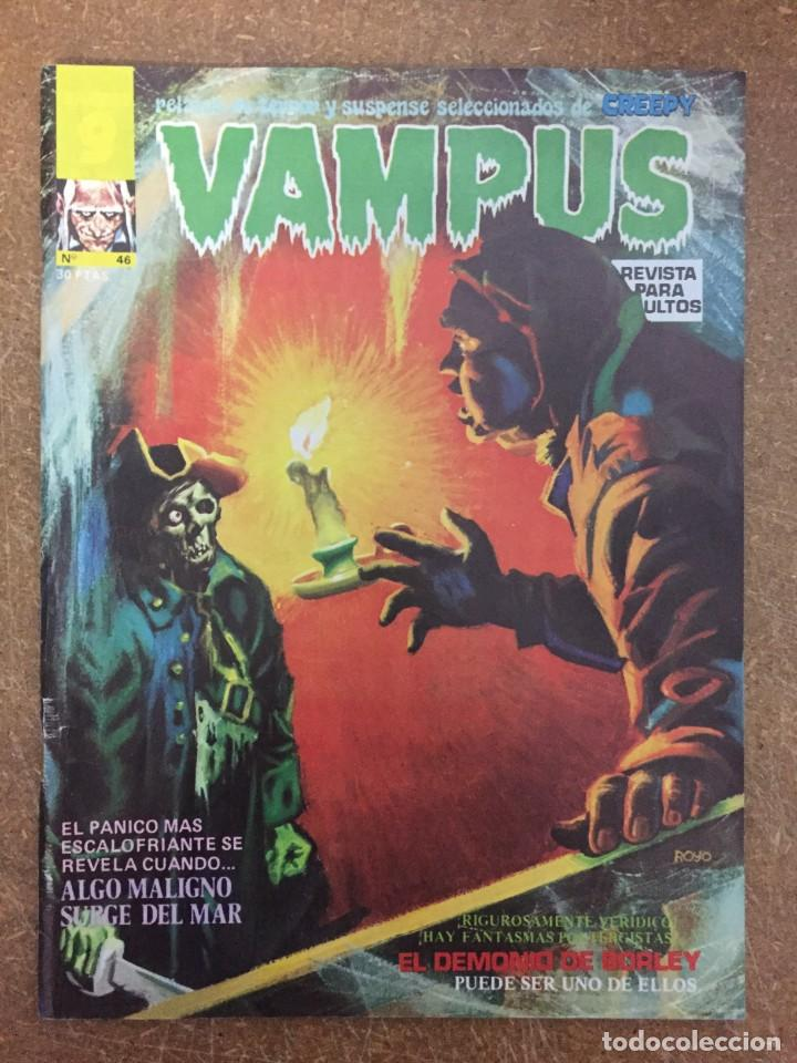 VAMPUS Nº 46 (Tebeos y Comics - Garbo)
