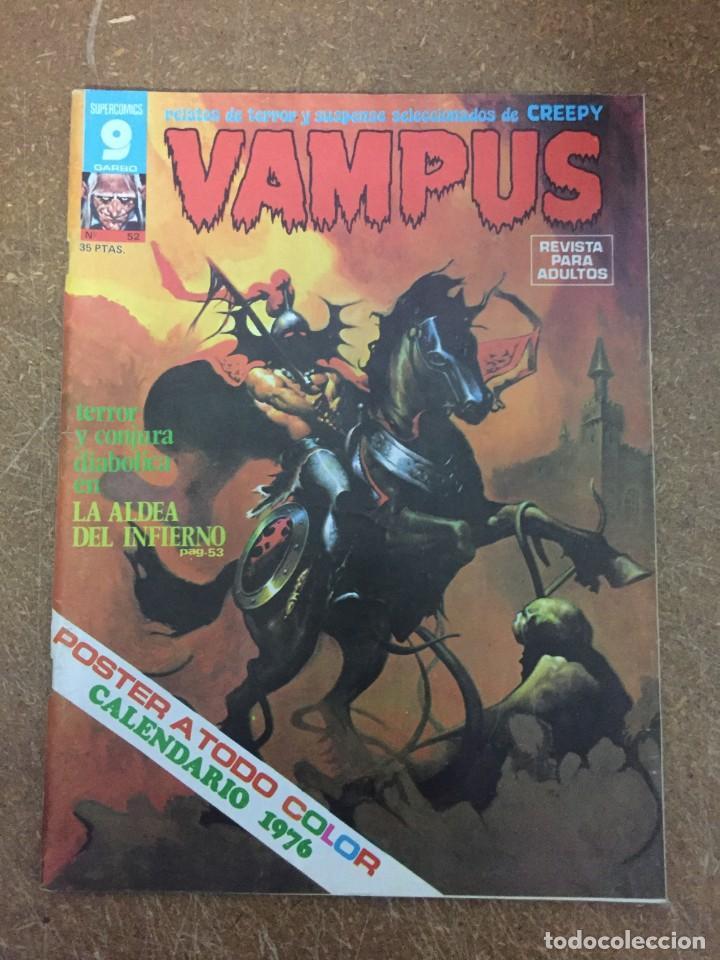 VAMPUS Nº 52 (Tebeos y Comics - Garbo)