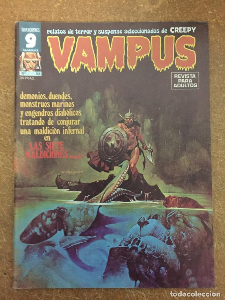 VAMPUS Nº 55 (Tebeos y Comics - Garbo)