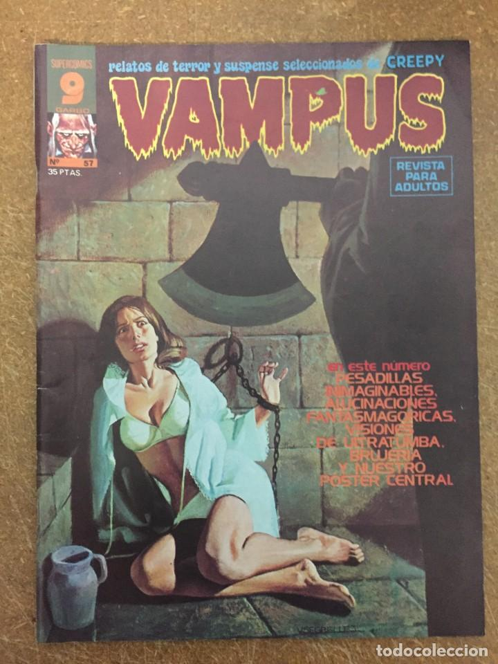 VAMPUS Nº 57 (Tebeos y Comics - Garbo)