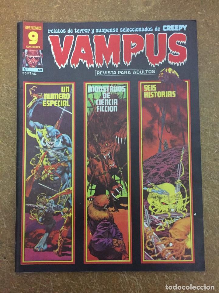 VAMPUS Nº 68 (Tebeos y Comics - Garbo)
