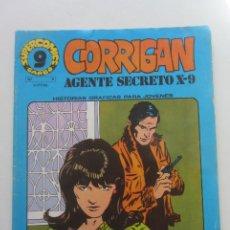 Fumetti: CORRIGAN AGENTE SECRETO X-9 - Nº 9 -SUPERCOMICS GARBO. 1973 CX58. Lote 205363800