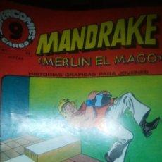 Cómics: MANDRAKE, MERLIN EL MAGO , NUMERO 23, GARBO , 1973. Lote 206946131