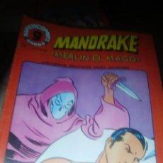 Cómics: MANDRAKE, MERLIN EL MAGO , NUMERO 17, GARBO , 1973. Lote 206946253