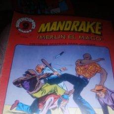 Cómics: MANDRAKE, MERLIN EL MAGO , NUMERO 8, GARBO , 1973. Lote 206946433