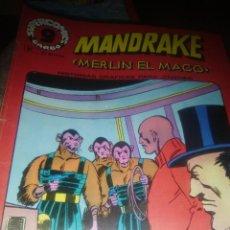 Cómics: MANDRAKE, MERLIN EL MAGO , NUMERO 11, GARBO , 1973. Lote 206946612