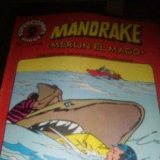 Cómics: MANDRAKE, MERLIN EL MAGO , NUMERO 14, GARBO , 1973. Lote 206946767