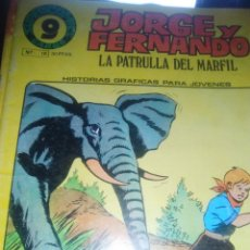 Cómics: JORGE Y FERNANDO, NUMERO 19, SUPERCOMIC GARBO , 1973. Lote 207143113