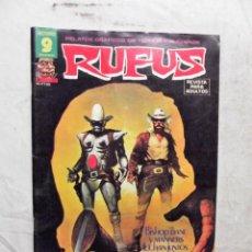 Cómics: RUFUS Nº 53 GARBO. Lote 208768738