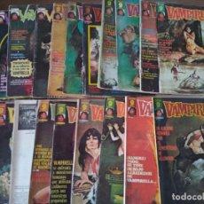 Fumetti: VAMPIRELLA LOTE DE 19 VOLÚMENES. Lote 190279565