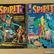 Cómics: LOTE DE 2 COMICS DE SPIRIT AÑOS 70. Lote 219385152