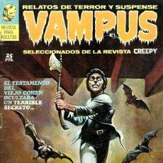 Cómics: VAMPUS Nº 1, BUEN ESTADO. Lote 220669635