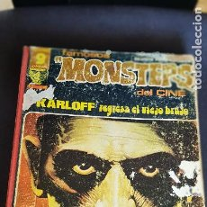 Cómics: FAMOSOS MONSTERS DEL CINE- 7 COMICS. Lote 220764657