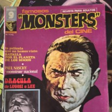 "Cómics: REVISTA COMIC ""FAMOSOS MONSTERS DEL CINE"". Lote 220837023"