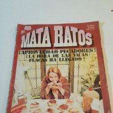 Cómics: COMIC MATA RATOS 2° EPOCA N° 13 GARBO 1976 CON ROMEU, CARLOS GIMENEZ,MARTIN MORALES.... Lote 220884820